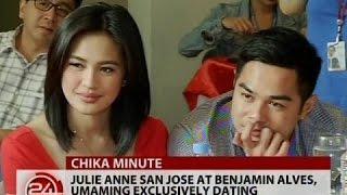 24 Oras: Julie Ann San Jose at Benjamin Alves, umaming exclusively dating