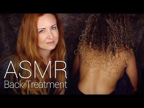 Xxx Mp4 ASMR Back Tracing W Scratch Brushing Buds Oil Massage 3gp Sex