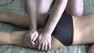 Butt Massage in black panties