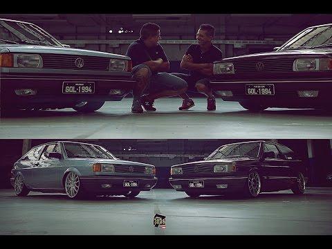 Irmãos Volkswagen Paixão por Gol Quadrado Canal 7008Films
