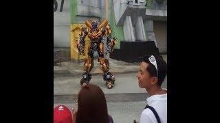 Transformation Movie Show Street Sideshow Singapore