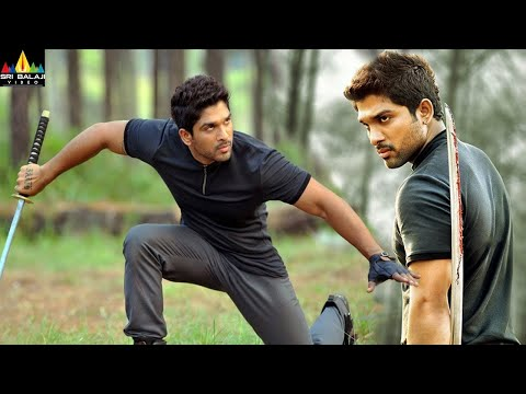 Iddarammayilatho Movie Climax Fight Scene   Allu Arjun, Amala Paul   Sri Balaji Video