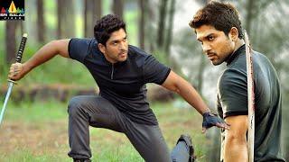 Iddarammayilatho Movie Climax Fight Scene | Allu Arjun, Amala Paul | Sri Balaji Video