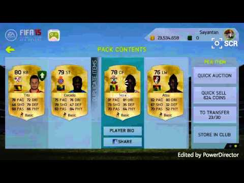 FIFA 15 NEW SEASON- 50K ANDROID/IOS PACK OPENING!