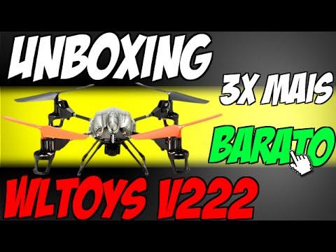 Xxx Mp4 Unboxing Drone WLToys V222 Direto Da China 3x Mais Barato 3gp Sex
