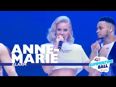 Anne Marie Alarm Live At Capital's Summertime Ball 2017