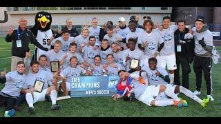 LIU Brooklyn Lifts 2015 NEC Men's Soccer Championship Trophy