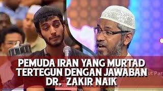 Jawaban Dr  Zakir Naik membuat pemuda Iran yang murtad dari Islam tertegun