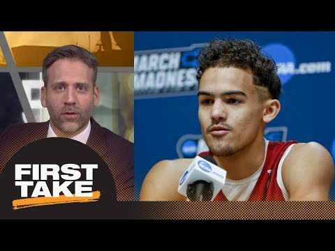 Max on Trae Young entering NBA draft He s not ready for the pros First Take ESPN