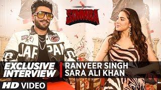 Exclusive Interview: Ranveer Singh, Sara Ali Khan   Simmba
