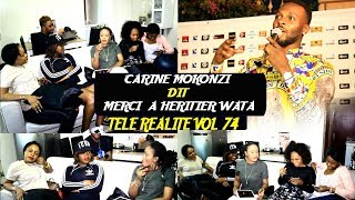 Télé Realité Vol 74 Carine Mokonzi Retour En Force Equipe National Ba Sopi Champagne Grave