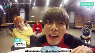 (Eng Sub) NCT 127 NIMDLE BEHIND Cushion Speed Game (YUTA, WINWIN, TAEYONG, JOHNNY, JAEHYUN cut)