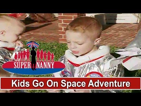 Dad & Young Boys Go On A SPACE ADVENTURE So Cute Supernanny