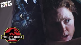 The Lost World: Jurassic Park | T-Rex a' Comin' | Julianne Moore and Jeff Goldblum