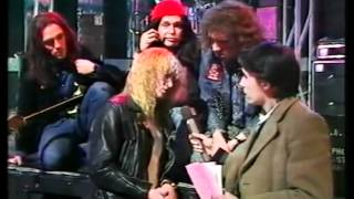 Bad News interview - The Tube 1983