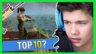 Top6 v sólo hře?! | Fortnite: Battle Royale [MarweX]