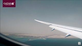 B787 - QATAR AIRWAYS #629 LAHORE TO DOHA - FLIGHT REVIEW #6