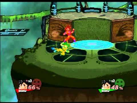 SSF2 0.7 Goku vs Goku