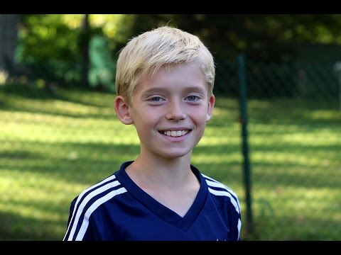 Soccer - trick shots by 9 year old (part 3)