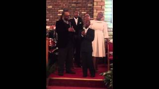 Kurt Carr and Timiney Figueroa sing