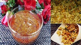 how to make jhalmurir mashla and jhalmuri