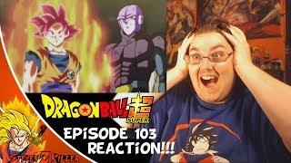 Dragon Ball Super Episode 103: Gohan VS Universe 10!! & SUPER SAIYAN GOD IS BACK! REACTION!!!