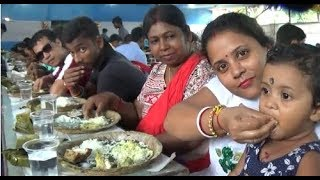 Mega Hilsa Fish Festival For 6000 People   Padma-Ganga Ilish Utsav 2017 (Part 2), Kolkata, WB, India