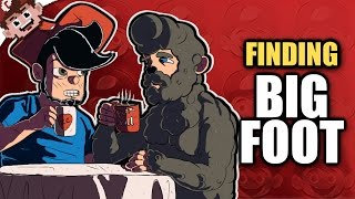 BIGFOOT is REAL!?   Terrorized By Sasquatch! (FINDING BIGFOOT - Funny Moments)
