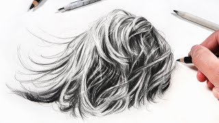 HOW TO DRAW HAIR in Just 5 Steps!
