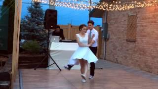 Lindy Hop Swing Wedding Dance