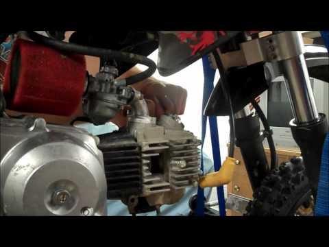 Honda CRF 50 - 88cc Big Bore Kit Install - Part 1 of 4