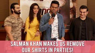"""Arbaaz Khan says """"Salman Khan makes us remove our shirts at parties!"""""""