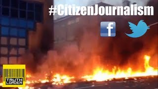 How London's helicopter crash unfolded through Citizen Journalism - Truthloader