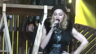 Madonna MDNA Tour - Open Your Heart & Speech (Cologne, Germany 10.07.2012) FULL HD