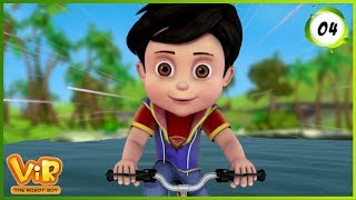 Vir: The Robot Boy | The Mask of Vir | Action Show for Kids | 3D cartoons