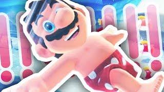 MARIO IN HIS BOXERS?!?!? (Super Mario Odyssey #2)