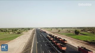 Chinese-built motorway employs nearly 10,000 in Pakistan