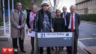 UCT honors Chris Hani with new science centre building