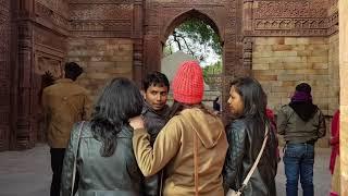 Razia Sultan's Father Iltutmish mausoleum in Qutub Minar Complex, Delhi