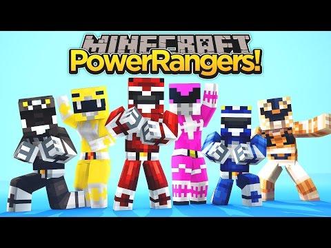 Minecraft MineVengers THE POWER RANGERS PART 1