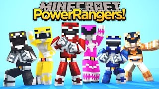 Minecraft MineVengers - THE POWER RANGERS, PART 1!!!