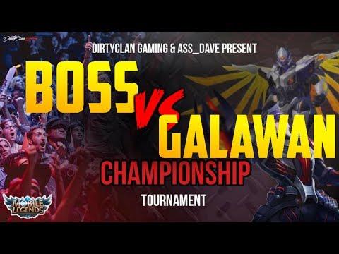 BOSS vs GALAWAN | LOSER BRACKET SEMI-FINAL | MOBILE LEGENDS NA S.5 CHAMPIONSHIP