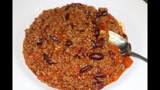How To Make Chilli Con Carne