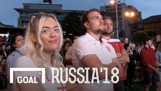 World Cup 2018: England v Croatia fans reaction