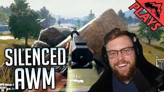 AWM SILENCED - Player Unknown's Battlegrounds #57 (PUBG Duos LevelCapGaming & StoneMountain64)