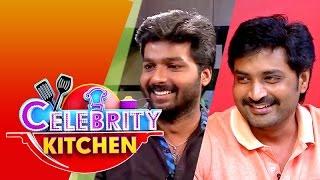 Actors Mirchi Senthil & Kamal in Celebrity Kitchen (31/05/2015)