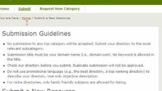 Easy to submit backlinks