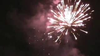 Pesta Kembang Api Di Alun Alun Mojoagung