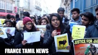 Tamil Girls In Paris Speaks About Jallikkattu N Tamil Heritage. Part - 1