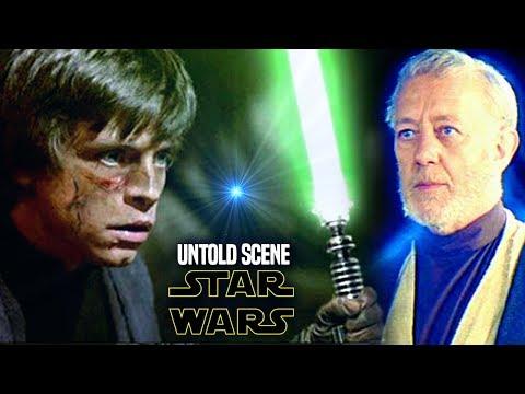 Star Wars! Shocking UNTOLD Scene For Return Of The Jedi Explained (Luke & Obi Wan)